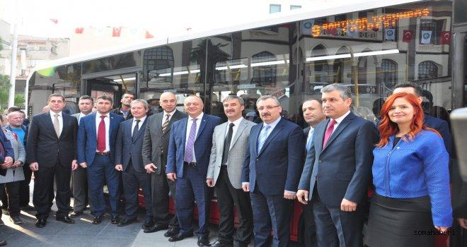 71 Yeni Otobüs Manisa Yollarında