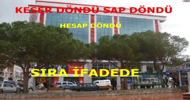 Soma Belediyesinde Keser Döndü Sap Döndü