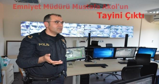 Soma Emniyet Müdürü Mustafa Akol'un Tayini Çıktı