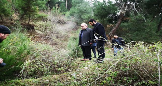Soma Belediye Başkan Vekili Ekşi  Kömür Döküm Sahalarını Gezdi
