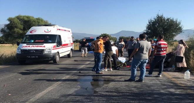 Motosiklet Kazsında 1 Kişi Öldü