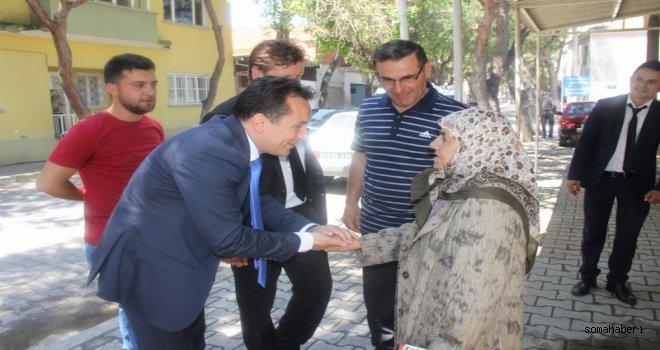 """Eryılmaz, """"GELECEĞİNİZ İÇİN MHP'YE OY VERİN"""""""