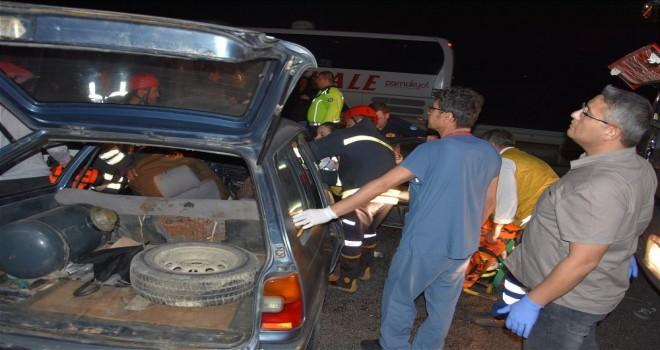 Feci Kazada 1 Kişi Öldü 5 Kişi Yaralandı