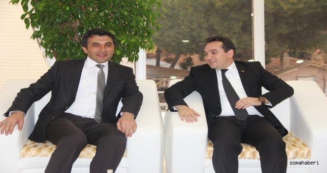 Sarıgöl'den Hasan Eryılmaz'a övgüler!