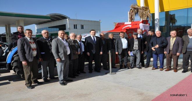 Soma Belediyesi Taş Toplama Makinası Geldi