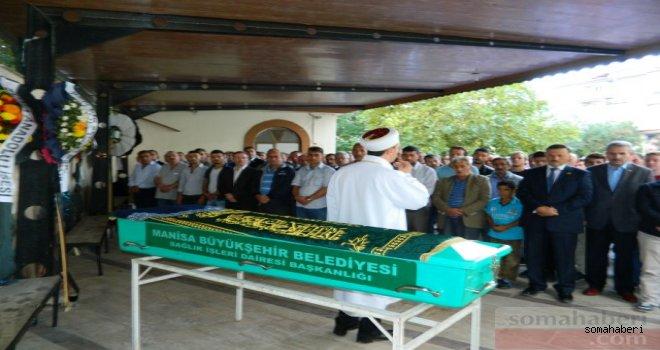 Soma Belediyesinden Temel Korkmaz Eşi Güler Korkmazı Kaybetti